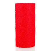 WXLAA 15cmx9m Lace Roll Table Runner Chair Sash Wedding Bouquet Venue Decoration Red