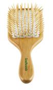 GranNaturals Detangling Wooden Bristle Paddle Hair Brush   Length 26cm Width 8.9cm
