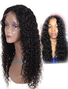 Auspiciouswig Glueless Full Lace Human Hair Wigs for Black Women Curly Brazilian Virgin Hair Lace Front Wigs with Baby Hair