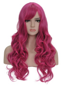 Candy Series Cosplay Curly Wig - Gorgeous Women Long Curly Wig with Free Wig Cap and Wig Comb