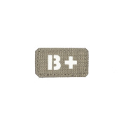 B Positive B+ Blood Type Patch Laser Cut Military Tactical Morale Hook and loop