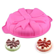 New Single bow Silicone Cake Mould, Cake Decoration, Chocolate Baking Mould for parties