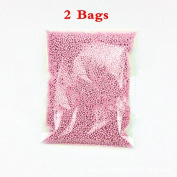 Foam Balls,BingLaLa 2 Bags 0.08-0.4cm Household School Arts Crafts Supplies Fits For Stick to Slime Pink