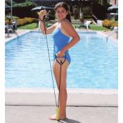 All Pro Unisex Medium Tension Aquatic Weight Exercise Band, Black/Yellow, 0.9kg