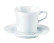 Porcelite 320720 Tall Tea Cup, 20 cL210ml