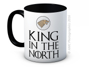 King in the North - Jon Snow - Game of Thrones - High Quality Coffee or Tea Mug