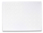 Staedter Rectangle Cake Board, White, 35 x 25 cm