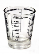 Kitchen Craft 50 ml Glass Mini Measures