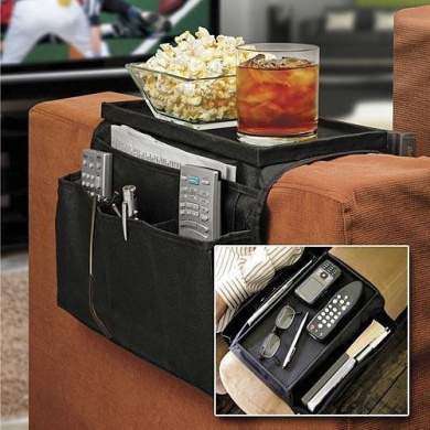 Arm Rest Remote Control/Table Organiser