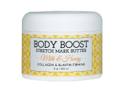 Body Boost Milk & Honey Stretch Mark Butter 240ml- Pregnancy and Nursing Safe Skin Care