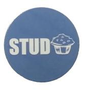 Stud Muffin Blue Golf Ball Marker By Atomic Market
