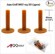 "BRT03 A99 Golf Premium rubber tees 3 1/4"" (83mm) - Driving Range Mat Tees!"