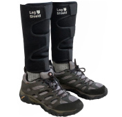 Neoprene Leg Gaiters (Pair) - Unique Hook and loop Design For Very Easy On/Off - For Outdoors, Hunting, Hiking, Walking, and General Protection - Windproof, Water Resistant, Durable, Snug Fit, Warm