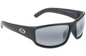 Strike King S11 Optics Okeechobee Polarised Sunglasses with Rubberized Matte Grey Frames and Lenses