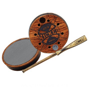 Wicked Series ~ Slate Acrylic Stabilised Cherry Pot ~ Zink Calls ~ Turkey Hunting Call
