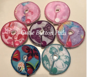 Cutie Button Pads G/j Tube Pad 7 Pack