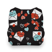 Thirsties Snap Natural Newborn All In One, Love Notes