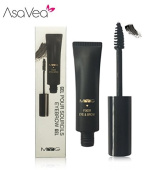 2 In 1 Original Mascara, Eyelash and Eyebrow Enhancement, One Product for Two Use, Carbon Black Natural Colour