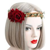 Bodermin Fashion Outdoor Rattan Headbands Seaside holiday ornaments Headband Hair Band