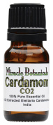 Miracle Botanicals CO2 Extracted Cardamom Essential Oil - 100% Pure Elettaria Cardamomum - 5ml, 10ml, or 30ml Sizes - Therapeutic Grade - 10ml