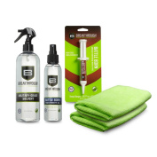 Breakthrough Clean Technologies Solvent, Grease, Oil, Microfiber Towel Bundle