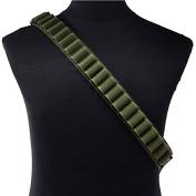 Isafish Bullet Belts 27 Grid 12G Adult Outdoor Adjustable Portable Cartridge Belt for Hunting CS Game