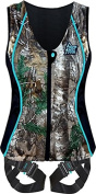 Hunter Safety System Women's Contour Safety Harness with ElimiShield Scent Control Technology