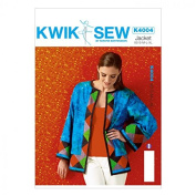 Kwik Sew Ladies Sewing Pattern 4004 Patchwork Loose Fitting Jackets