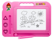 Magic MAGNETIC BOARD Little Painter - Travel Mini Magic Drawing Board / Scribbler / Doodle - Gift For Kids, Child, Girl, Children - Perfect for Stocking Fillers Christmas Xmas Birthday Easter Present Gift Fun Toys & Games Age 5+ or Pocket Money Treat o ..