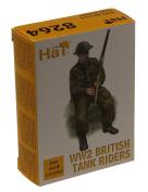 Hat Industrie 1/72 WW2 British Tank Riders # 8264
