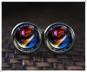 Camera Lenses Cufflinks, Camera Cufflinks, Camera Lens art gift
