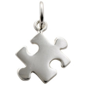 Lily Charmed - Sterling Silver Jigsaw Charm