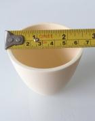 OTOOLWORLD 99.3% Alumina Crucible Al2O3 Assay Crucible for Lab laboratory