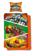 Skylanders Duvet Cover Bed Set 140 x 200 cm 100% cotton