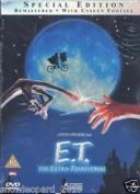 E.t. The Extra Terrestrial Dvd Et Steven Spielberg Original Uk Release Sealed