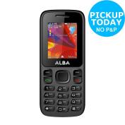 Sim Free Alba 4.6cm 1.8mp 32mb Mobile Phone - Black :from Argos On
