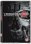 Terminator Quadrilogy Complete Dvd Collection Terminator 1,2,3,4 New And Sealed