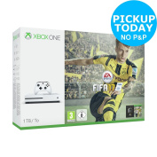 Microsoft Xbox One S 1tb Console With Fifa 17 Bundle - White -from Argos On