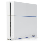Ps4 Officially Licenced Vertical Stand & Usb Hub White -