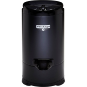 White Knight 28009b 2800 Rpm 4.1kg Gravity Drain Spin Dryer In Black New