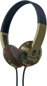 Skullcandy Uproar On-ear Camo Slate Navy Headphone With Mic
