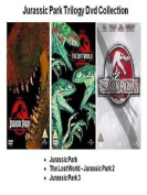 Jurassic Park Trilogy Dvd Triple Pack Part 1 2 3 Lost World Uk Release