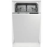 Beko Dis15010 Slimline Integrated Dishwasher A+ 10 Place Settings