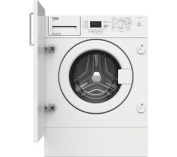 Beko Wmi61241 Integrated Washing Machine 6.5kg A+ 1200 Spin New And Sealed!