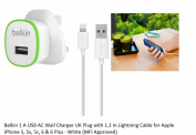 Belkin Usb Ac Wall Charger 1.2m Lightning Cable For Iphone Se 5 5s 6 6s 7 Plus