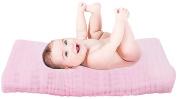 Chanie Muslin Cotton Baby Bath Towels,Soft Natural Organic Cotton Newborn Baby Bath Towels Also Warm for Baby Blanket,100cm x 100cm