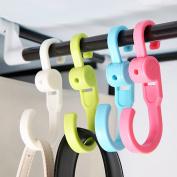 Auwer Fashion 2Pcs Universal Car Vehicle Seat Back Headrest Hanger Holder Hook for Bag Purse Cloth Grocery Coat Organiser, Colours At Random