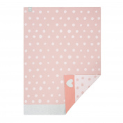 Lassig Baby Knitted Blanket, Lela Pink