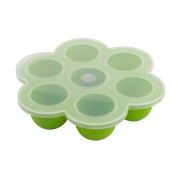 Webake Silicone Baby Food Containers Storage Freezer Ice Cube Tray