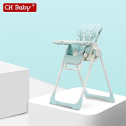 5-in-1 baby high chair, adjust height fold feed chair
